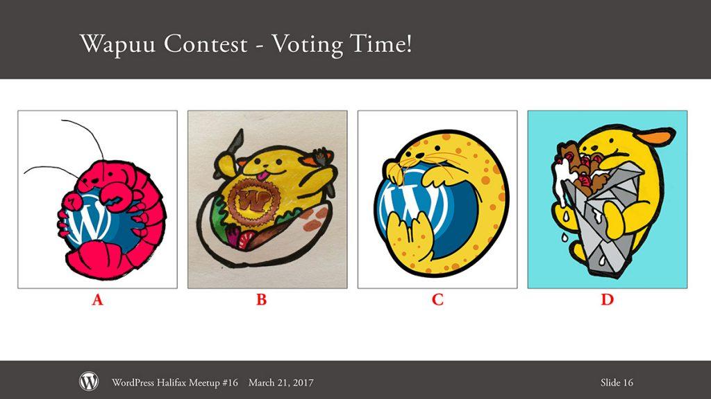 Wapuu Contest Slide